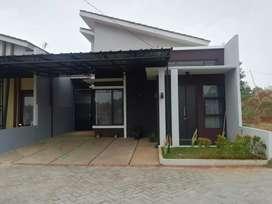 Rumah dengan luas tanah 120 di lingkungan islami yang sejuk nan asri