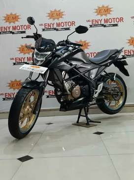 Honda CB150R  siap libass luur 2018 black doff-Eny motor