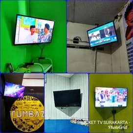 Pemasangan BRACKET TV Pojokan (braket tv)