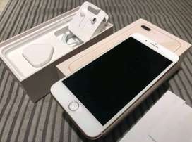 i phone 8plus mobile phone with box and acceseries