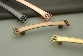 All type of hardware fittings. Door handles Hingess. Curtain bracket.