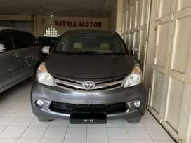 TOYOTA AVANZA G 2012 MT Manual ABU ABU KM RENDAH