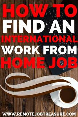 Only writing work part time job home based