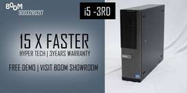 COMPUTER {DELL}   i5 3RD GEN   WIFI   DELIVERY FREE   3 YEAR WARRANTY