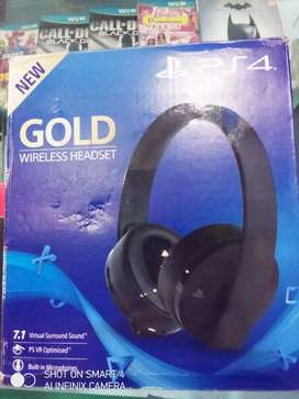 Ps4 gold headset available