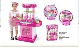 Mainan Set Dapur Anak Pink