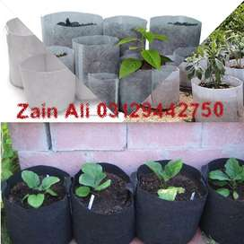 Fabric Pots/Plant Grow Bags w/Handles (Multi-Pack)
