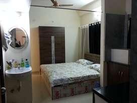 Studio apartment with Below amenities King size