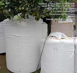 Tandon air 2000 liter merk new88 bahan plastik tebal