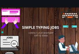 SIMPLE TYPING JOB