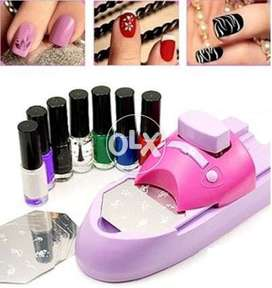 Buy Nail Art Machine ,Nail Stamping Machine in Pakistan COD Available