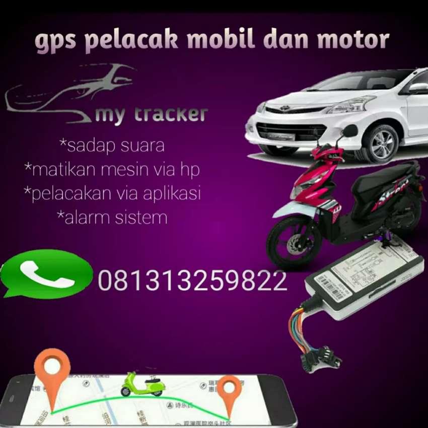 GPS TRACKER PELACAK MOBIL DAN MOTOR 0