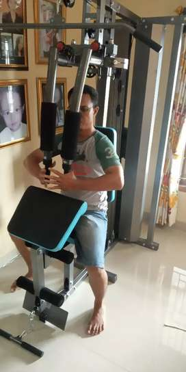 New Home gym 1 sisi lengkap berkualitas central body fitnes