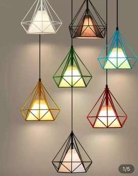Kap lighting lampu gantung lampu vintage lampu industrial lampu cafe