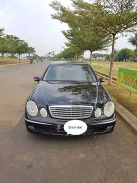 Mercedes Benz E280 2006 AT Harga Cash