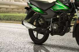 Brend new , TVS bike fresh ,TVs shoroom see le directly only 50000 me