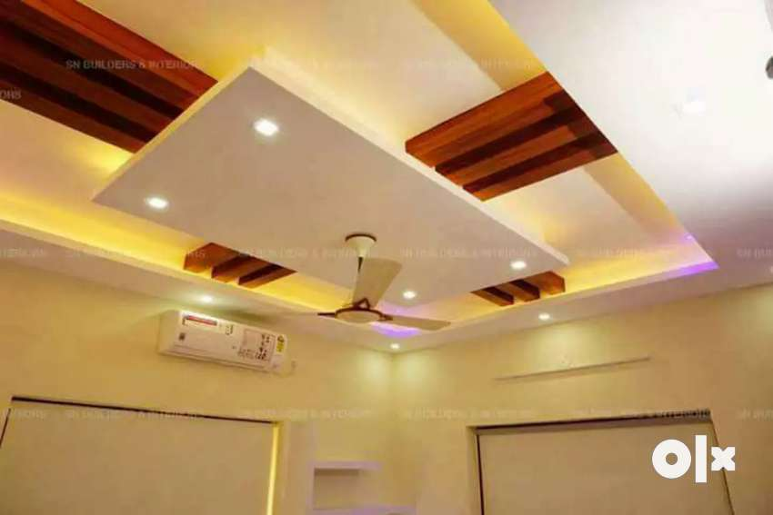 Gypsum board ceiling work ,cornice & partition @55 0