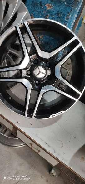 AMG Model Mercedes Alloy wheel 17 set of. 4