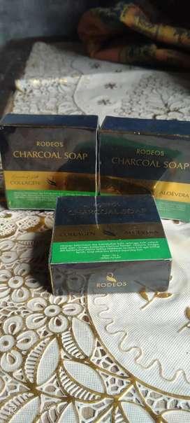 Sabun Rodeos Charcoal Soap