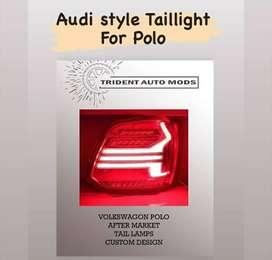 Volkswagen Polo danger light