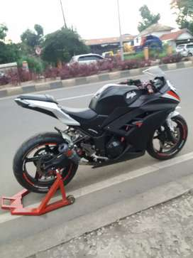 Kawasaki ninja fi 250.modif moge