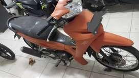 Honda Revo Warna Orange