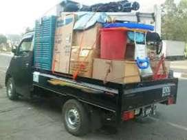 Jasa pindahan kirim barang losbak sewa mobil bak rental mobil pick up