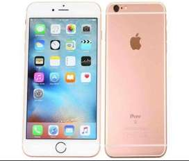 I phone 6S. 64 GB. Colour Golden  Bettry timing 100%.