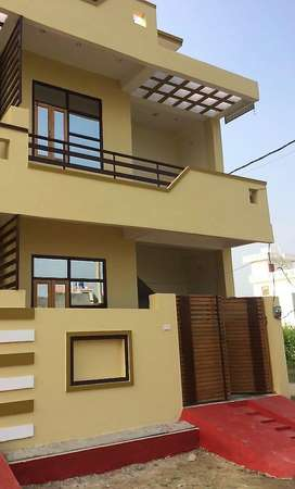 3BHK Double Story House at IIM Road (2 Side Open - Corner Property)