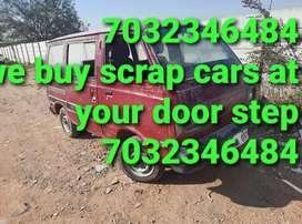 Scrap/Old/Accident/Cars we buy at your location
