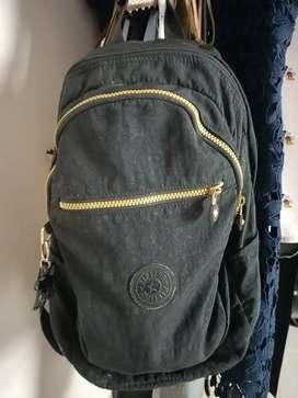 authentic Original tas Kipling motif hitam beli di mall kokas