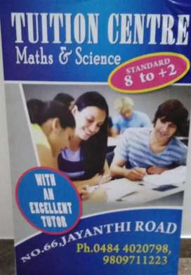 Tuition for Maths / Physics / Chemistry for