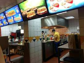 Required candidates for Restaurant