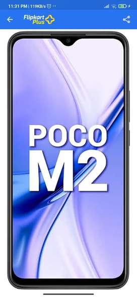 Poco m2 6+64gb new with bill and warranty