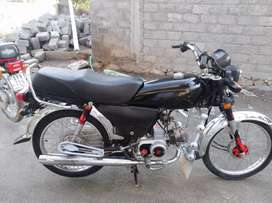 Good Condition Honda CD 70 Model 2017