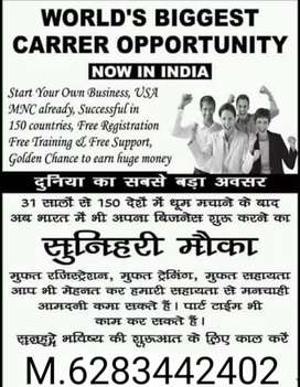 Life changing business opportunity parttime & fulltime girls and boys