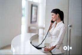 front desk  /receptionist job 0