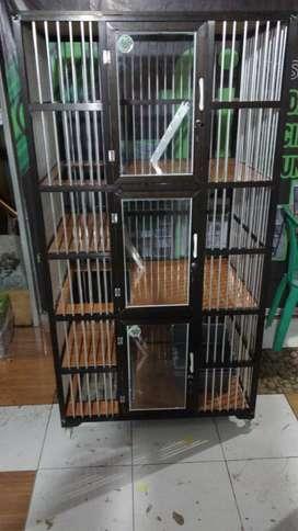 Kandang kucing 3 lantai