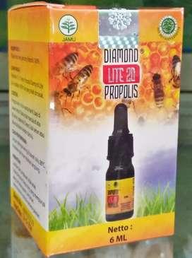 Diamond Propolis Lite 20, Membantu Daya Tahan Tubuh, Anti Virus, dll.