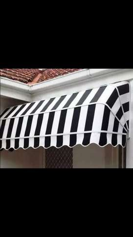 Awning for shops and windows