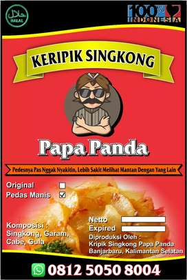 Keripik Singkong Spesial Pedas Manis