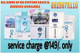 All brands of Ro water purification sales and services available here