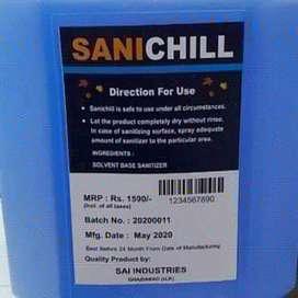 Sanitizer liquid