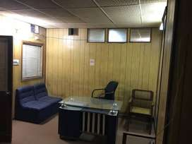 NO SECURTY / NO ADVANCE. FURNISHED OFFCE IN COMMITTEE CHOWK RWP