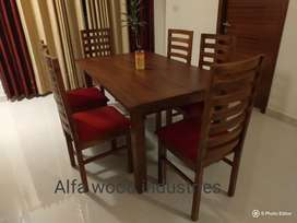 New wooden dining set available factory direct
