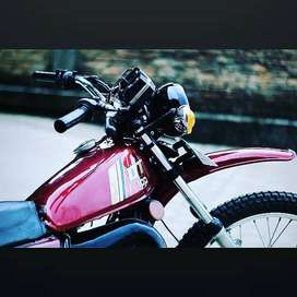Yamaha dt 100 jual cepet