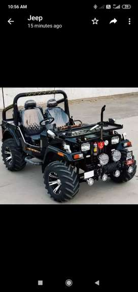 Modified Jeep jeep
