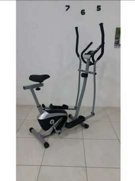 Alat fitness - sepedah Eliptical bike