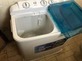 Croma 6.5kg Semi Automatic Washing Machine