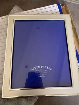 """Silver plated photo frame 8""""*10"""""""